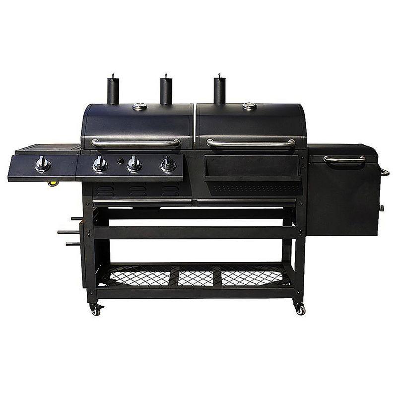 barbecue haut de gamme 4 fonctions barbecue charbon de bois barbecue gaz chambre de. Black Bedroom Furniture Sets. Home Design Ideas