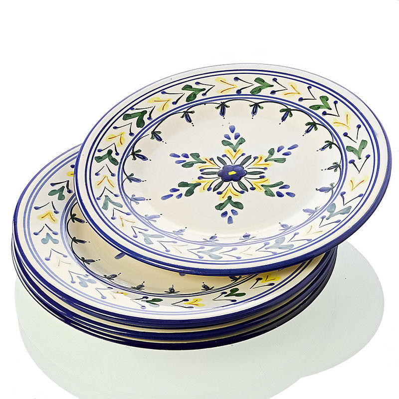 design 187 vaisselle provencale vert jaune cuisine design
