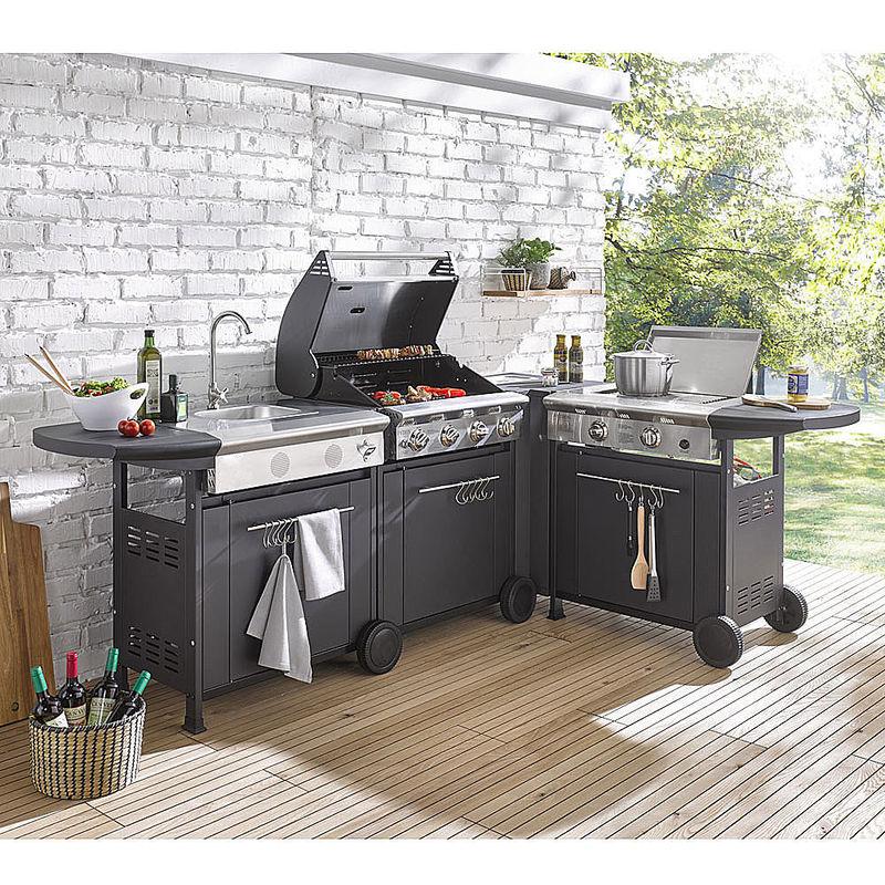 cuisine d 39 ext rieur compl te cuisine d 39 ext rieur volutive l ments assembler librement. Black Bedroom Furniture Sets. Home Design Ideas