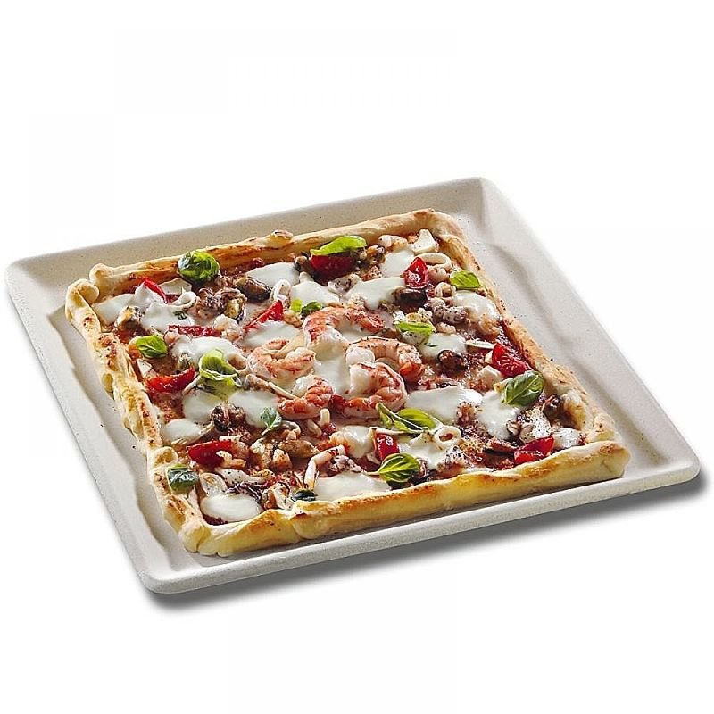 plaque de cuisson en argile des pizzas d licieusement croustillantes dans votre four hagen. Black Bedroom Furniture Sets. Home Design Ideas