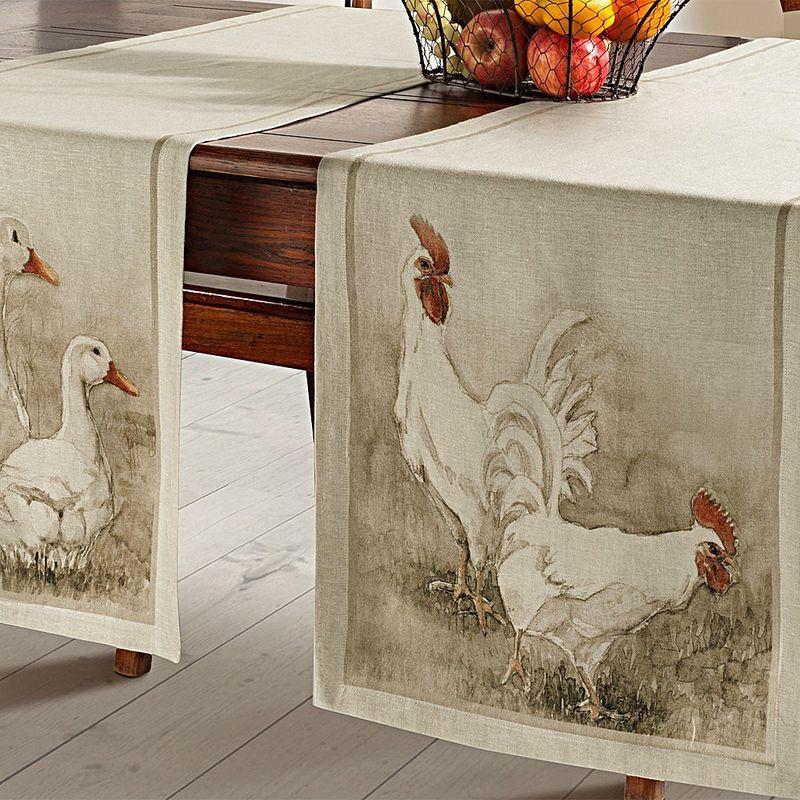 serviettes ce linge de table de style campagnard nous enchante avec son ambiance gaie hagen. Black Bedroom Furniture Sets. Home Design Ideas