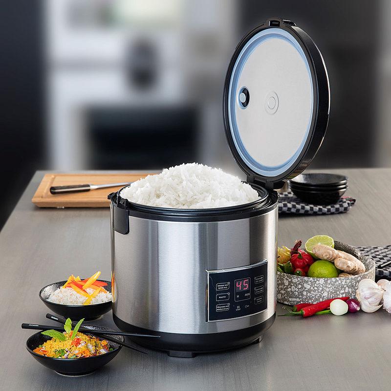 cuiseur riz enti rement automatique pour un risotto ou du quinoa parfaitement r ussi hagen. Black Bedroom Furniture Sets. Home Design Ideas