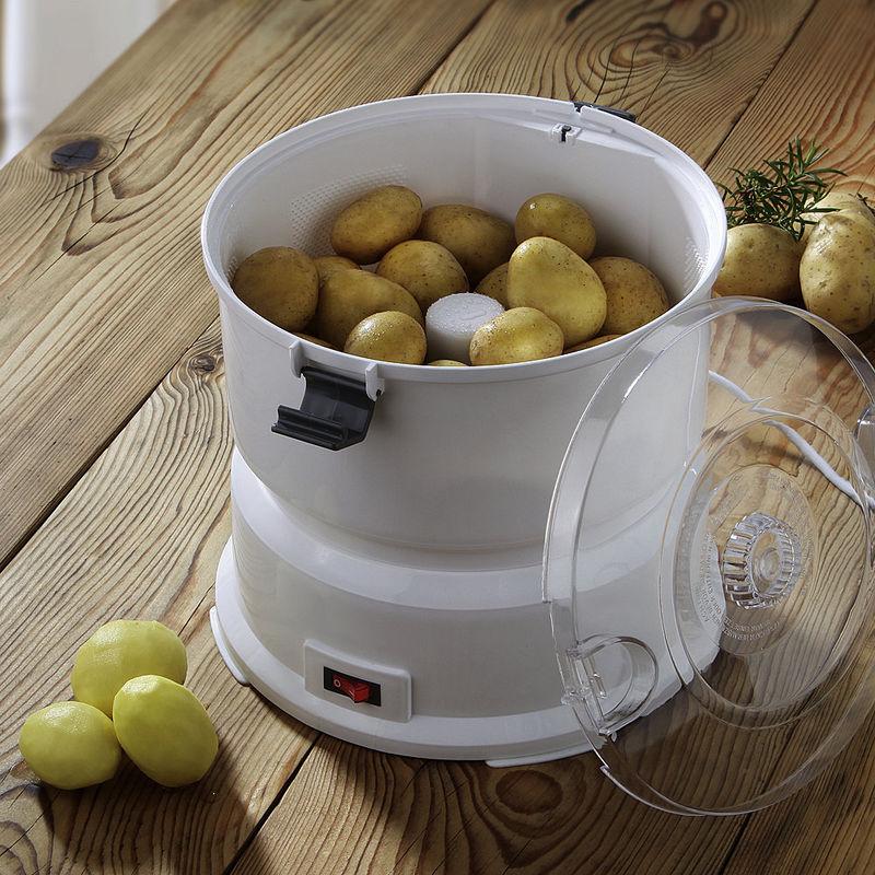 plucheur lectrique pommes de terre 1 kg de pommes de terre en 2 4 minutes hagen grote gmbh. Black Bedroom Furniture Sets. Home Design Ideas