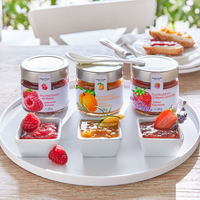 Confiture fraise-lavande  : 73 % de fruits et sucre naturel Photo 2