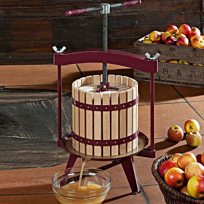 pressoir fruits traditionnel jusqu 11 litres de jus. Black Bedroom Furniture Sets. Home Design Ideas