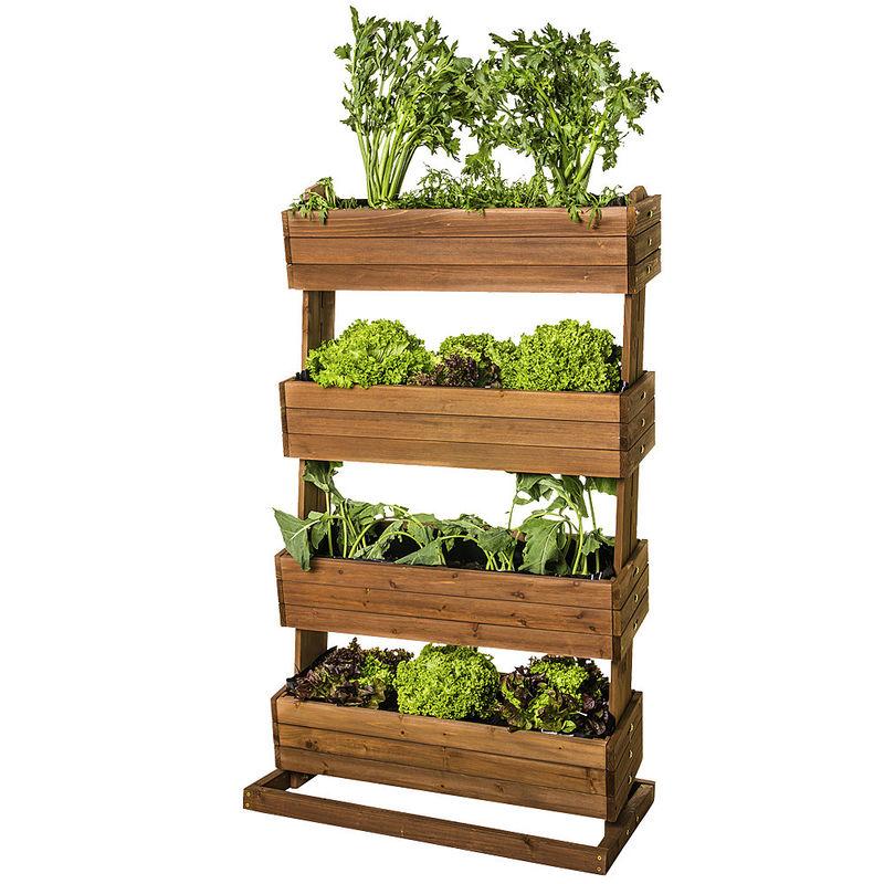 Plate bande sur lev e tages un jardin culinaire dans for Boutique dans un jardin