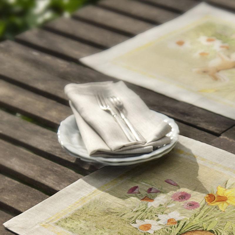 serviettes magnifique linge de table pour p ques hagen grote gmbh. Black Bedroom Furniture Sets. Home Design Ideas