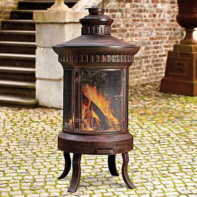 design antique : cheminée atrium classique - hagen grote gmbh