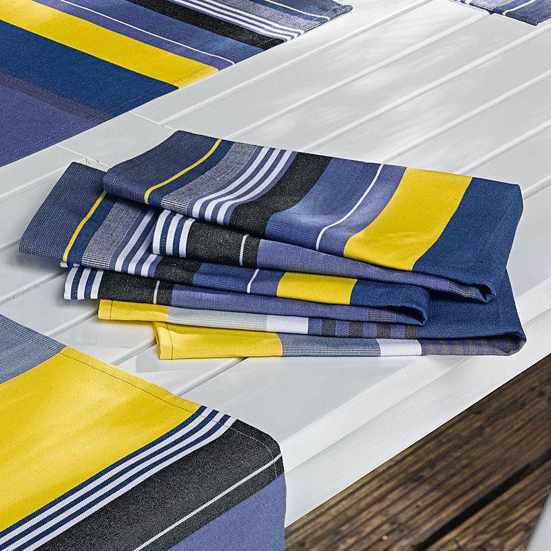 Serviette linge de table estival fran ais de luxe facile d 39 entretien lavable hagen grote gmbh - Linge de table luxe ...
