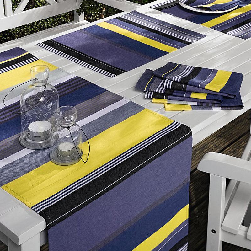 Serviette linge de table estival fran ais de luxe facile d 39 entretien lavable hagen grote gmbh Linge de table luxe