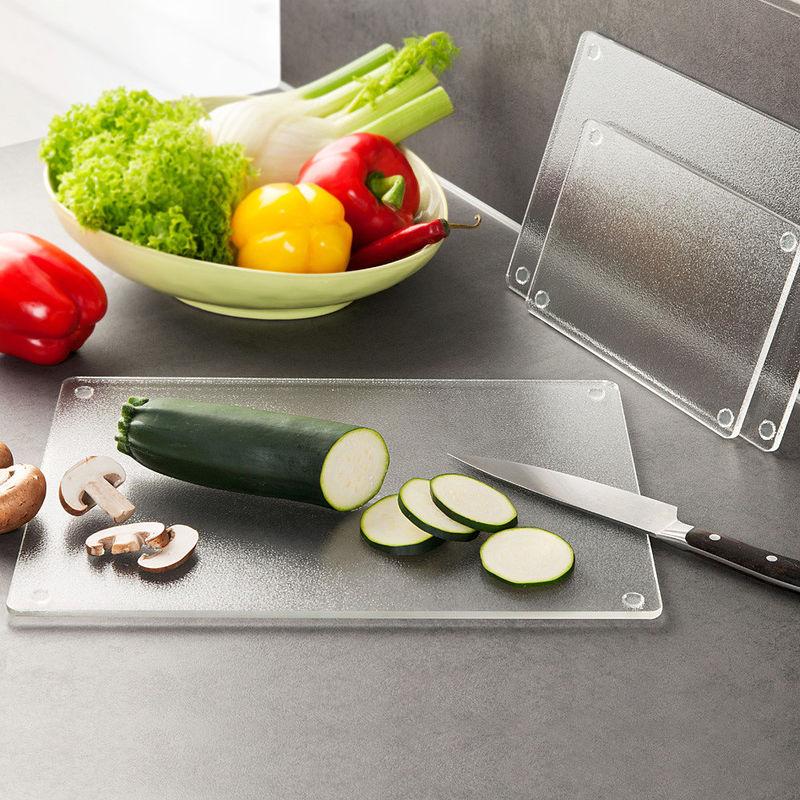 Planches d couper et plans de travail avec rebords en acrylique prot gent votre cuisine - Planche a decouper pour plan de travail ...