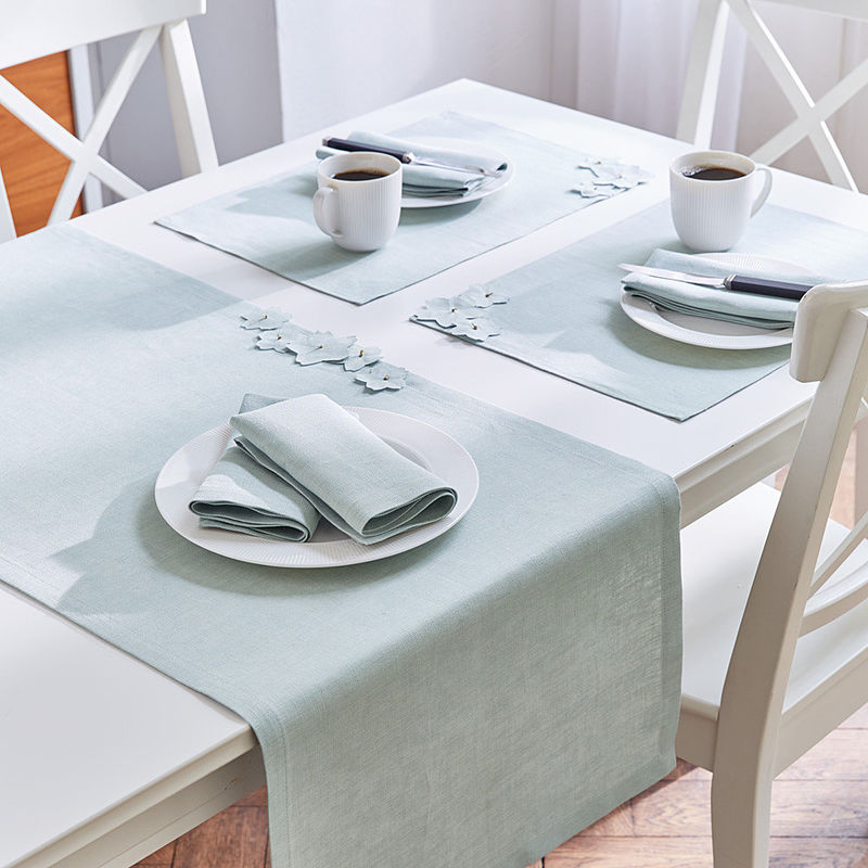 Serviettes linge de table raffin en lin de manufacture - Linge de table raffine ...