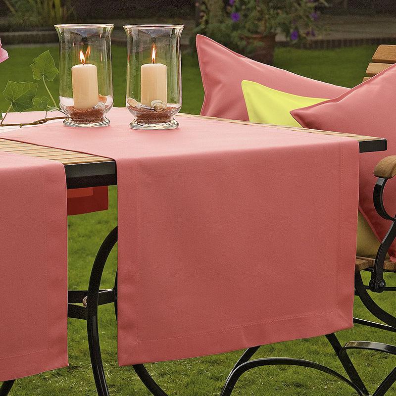 chemin de table pour le jardin et la terrasse r sistant aux intemp ries et ne craint pas les. Black Bedroom Furniture Sets. Home Design Ideas
