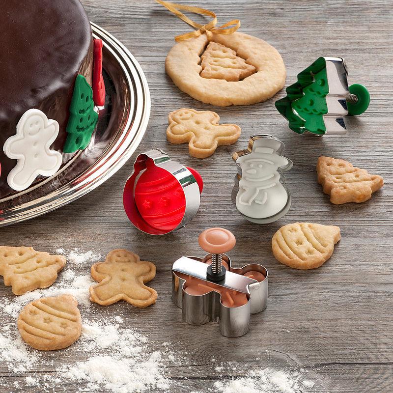 Emporte pi ces tampons pour biscuits de no l originaux en 3 d hagen grote gmbh - Emporte piece patisserie originaux ...