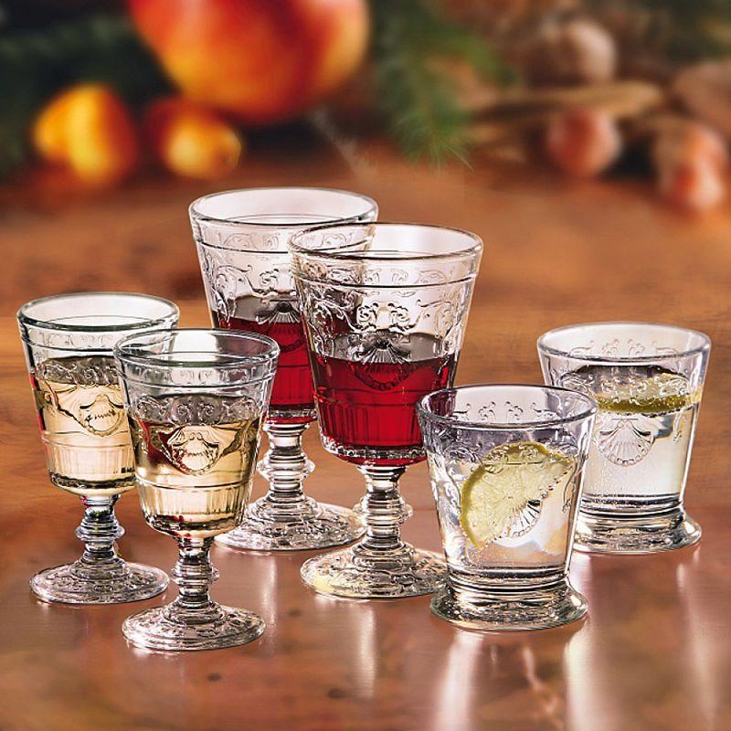 Verres vin versailles 20 cl verres de table de style for Salon du vin versailles