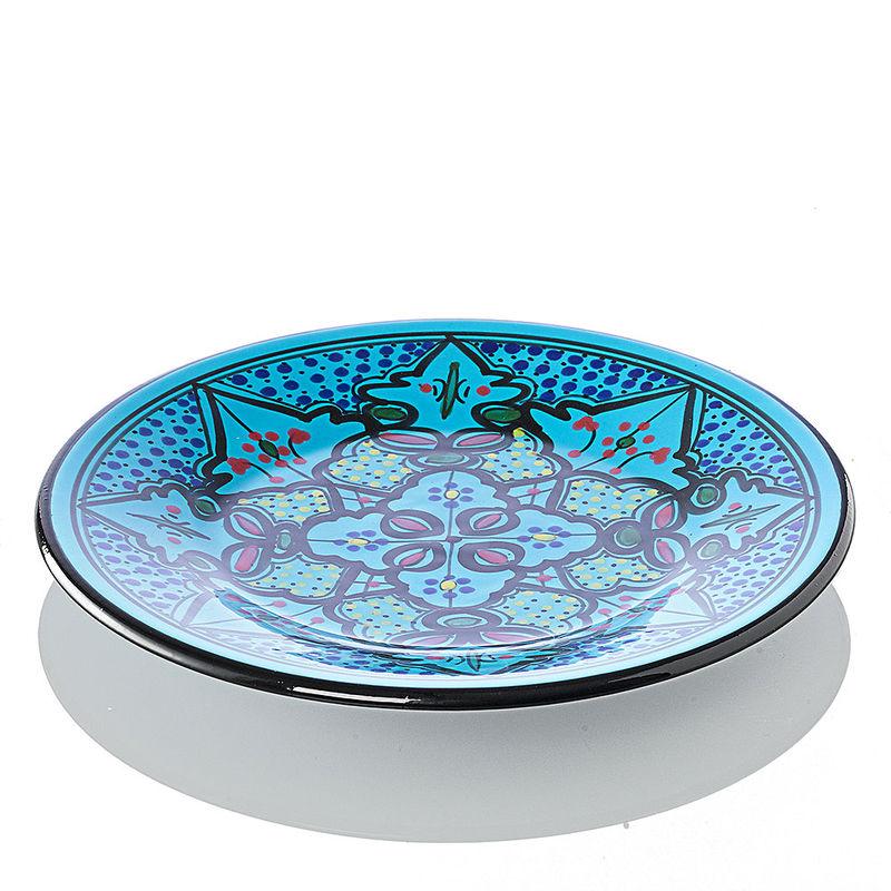 assiette plate vaisselle orientale faite main en c ramique dure hagen grote gmbh. Black Bedroom Furniture Sets. Home Design Ideas