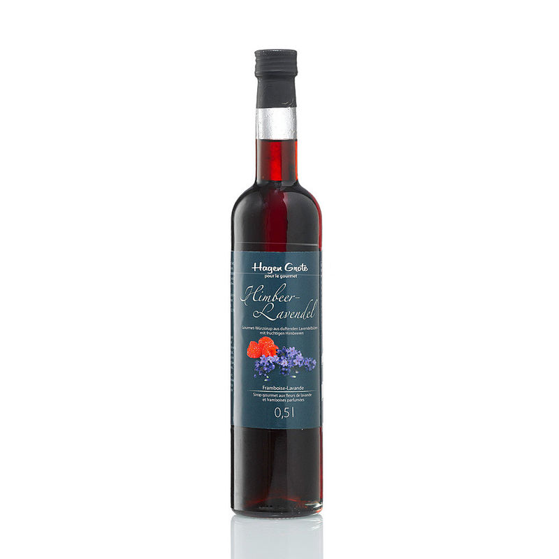 Sirop gourmet framboise-lavande affine boissons, glaces, desserts,salades, sauces, yaourts