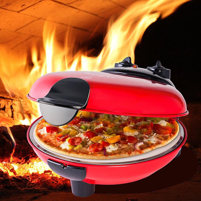 À une température de 400 °c, réussissez de véritables pizzas