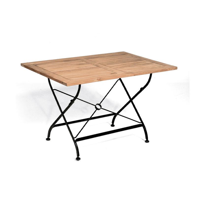 Table pliante de jardin résistant aux intempéries, résistant