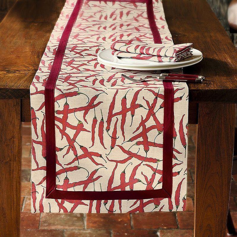 Chemin De Table Extravagance D 39 Un Linge De Table Pic