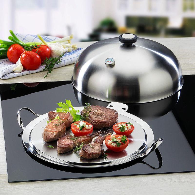 Plancha mobile cuisiner sainement sur vitroc ramique induction ou gril de jardin hagen - Induction ou vitroceramique ...