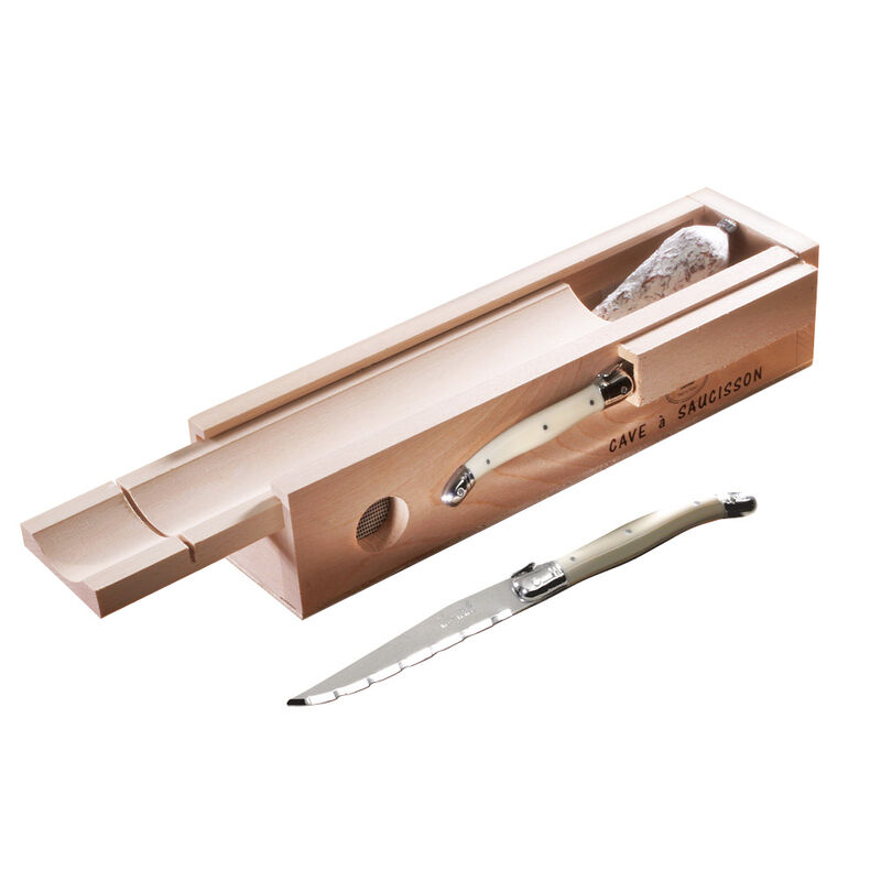 Votre couteau salami laguiole coupe de tr s fines - Couteau cuisine laguiole ...