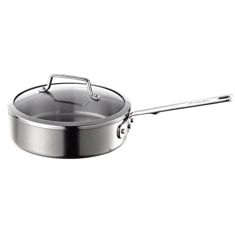 Sauteuse anolon mieux cuisiner avec la batterie de - Cuisiner avec l induction ...