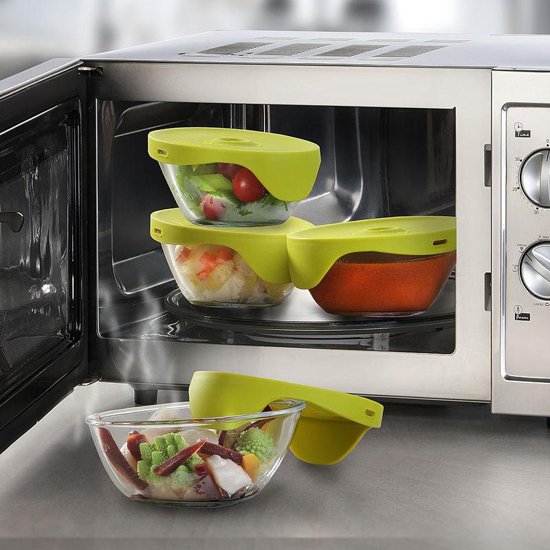 Cuire la vapeur au micro ondes par portions rapidement for Cuire legumes micro onde
