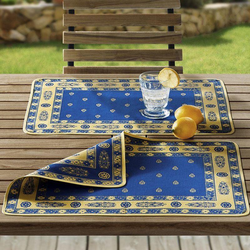 serviette linge de table proven al tiss en jacquard haut. Black Bedroom Furniture Sets. Home Design Ideas