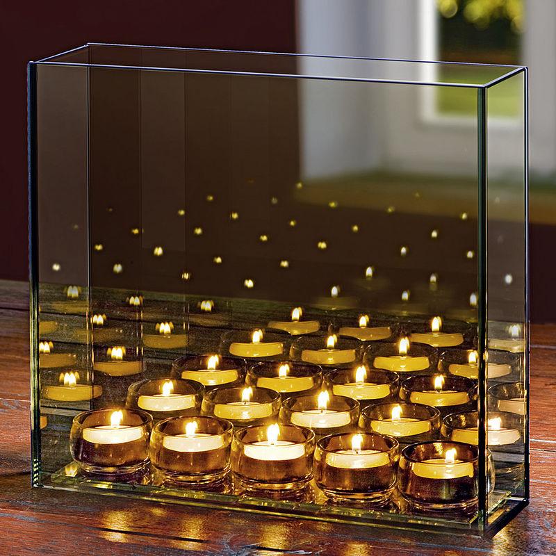 d ner aux bougies cadran lumineux de table hagen grote gmbh. Black Bedroom Furniture Sets. Home Design Ideas