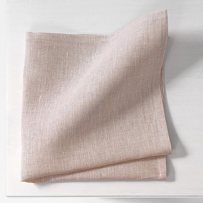 serviette le linge de table l gant en lin aux motifs de. Black Bedroom Furniture Sets. Home Design Ideas
