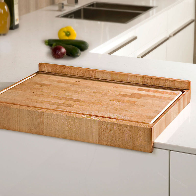 Plan de travail en bois pour prot ger votre cuisine for Planche pour plan de travail cuisine