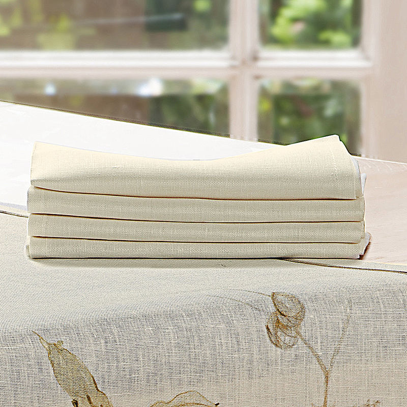 Serviettes le linge de table toscan charme par son ambiance de for t automnale m diterran enne Linge de table luxe