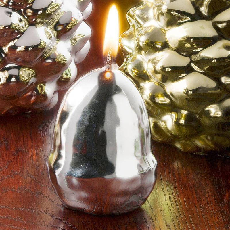 bougies d coratives automnales glands lumi re douce et chaleureuse pendant jusqu 39 45 heures. Black Bedroom Furniture Sets. Home Design Ideas