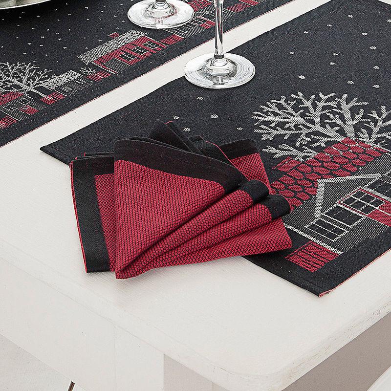 serviettes linge de table su dois f riquelinge de table. Black Bedroom Furniture Sets. Home Design Ideas