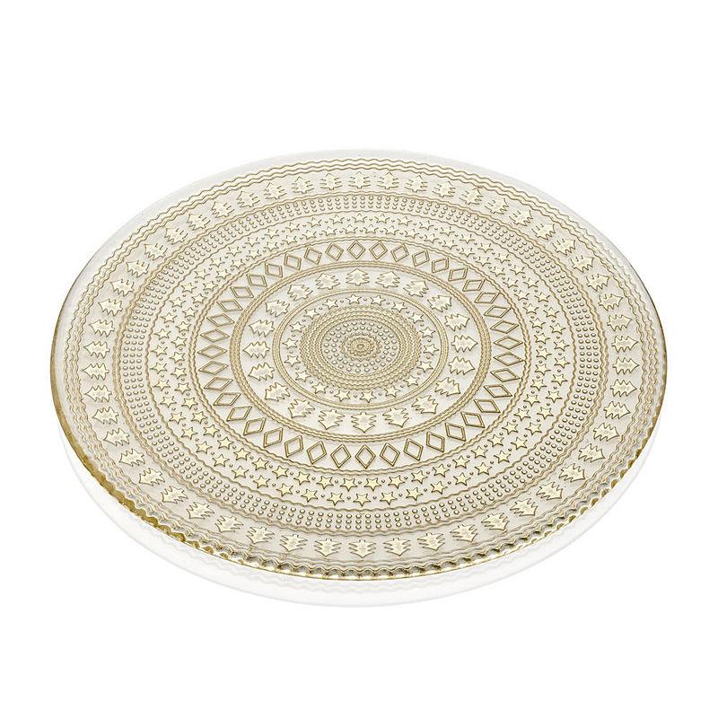 Assiette De Presentation Elegante Vaisselle De Noel En Verre Et