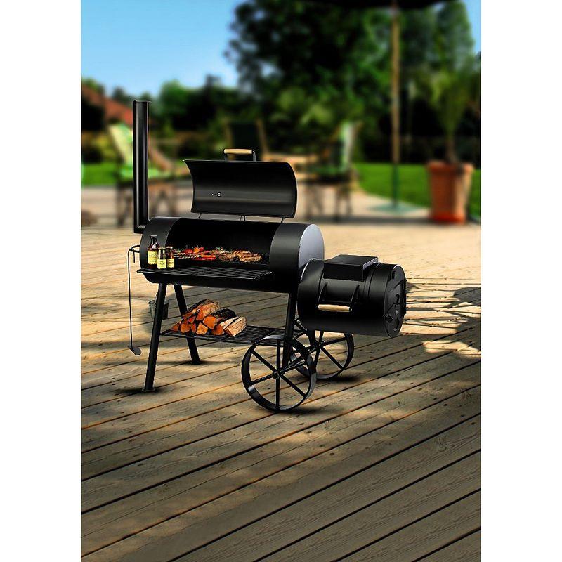 Barbecue cuisine original pour griller fumer cuire - Idee pour barbecue original ...