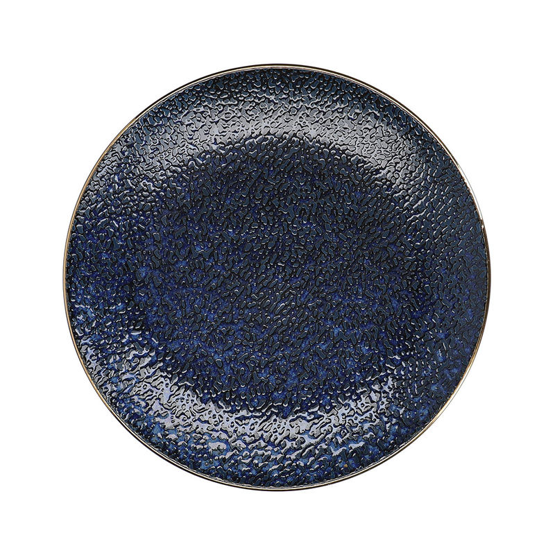 Assiettes plates - Motif traditionnel japonais Seigaiha