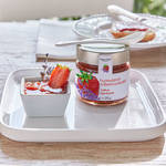 Confiture fraise-lavande  : 73 % de fruits et sucre naturel